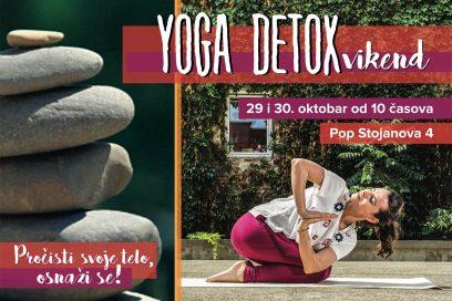 Detox yoga vikend