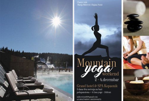 Mountain yoga vikend