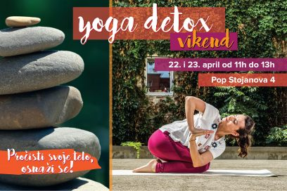 Prolećni yoga detox vikend