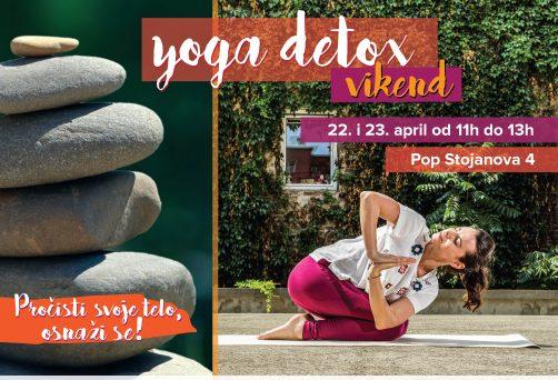Prolećni yoga detox vikend