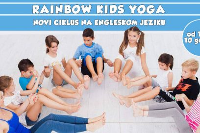 New cycle of Rainbow Kids Yoga in English!