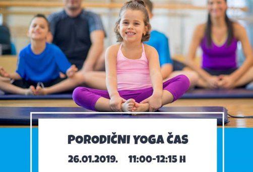 Porodični yoga čas u januaru