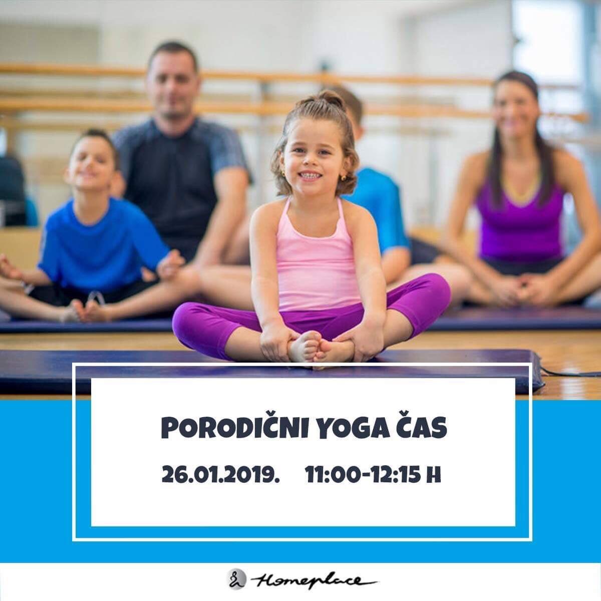 Porodični yoga čas - 26. januar 2019.