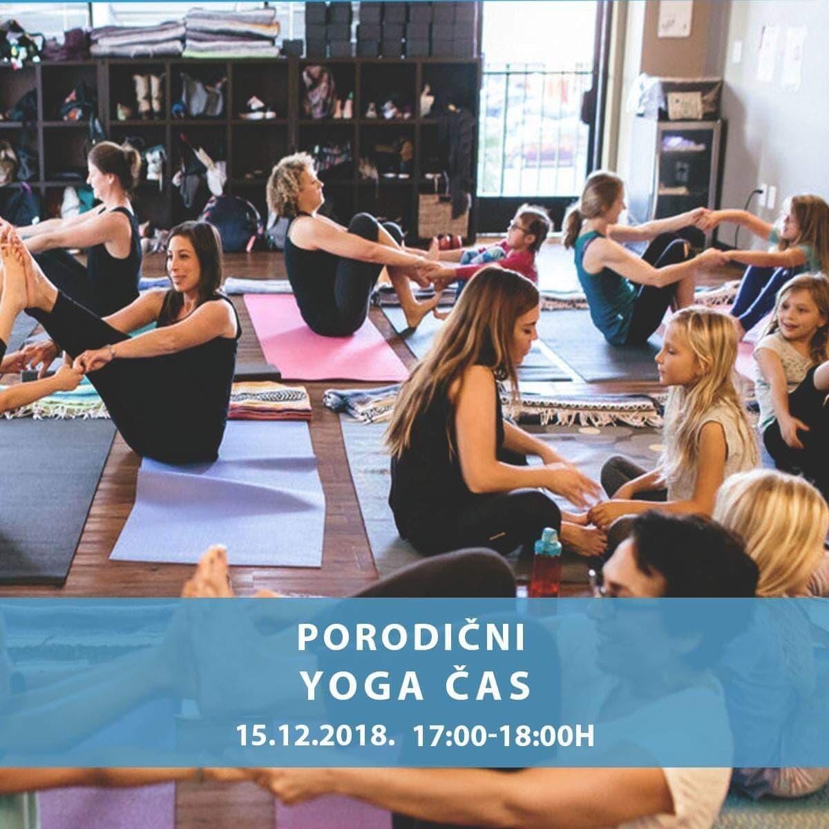 Porodični yoga čas - 15. decembar 2018.