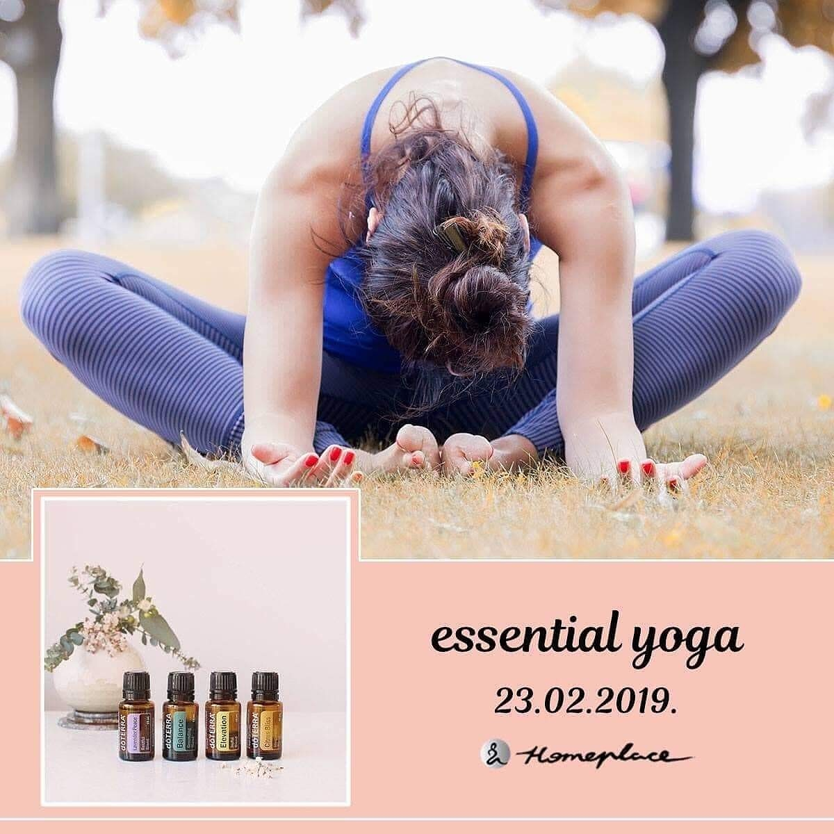 Essential yoga - 23. februar 2019.