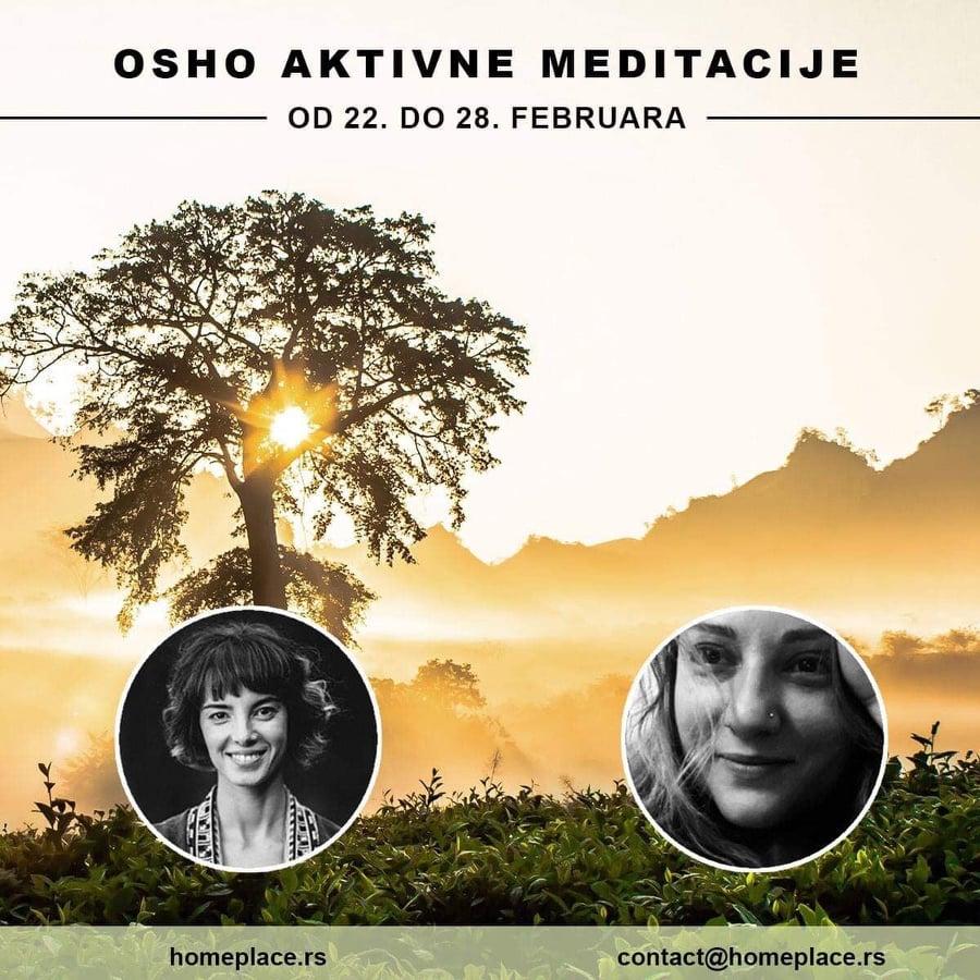 Ošo aktivne meditacije - februar 2019.