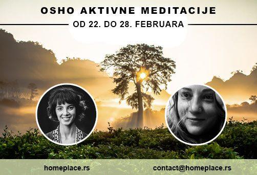 Ciklus Ošovih aktivnih meditacija – od 22. do 28. februara