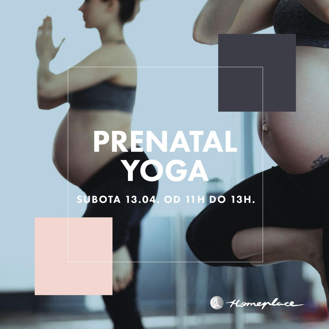 Prenatal Yoga - promotivni čas (13. april)