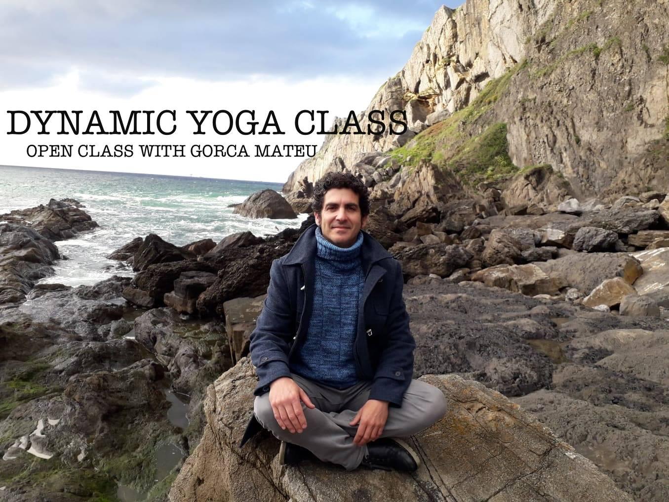 Dynamic yoga class - open class with Gorca Mateu