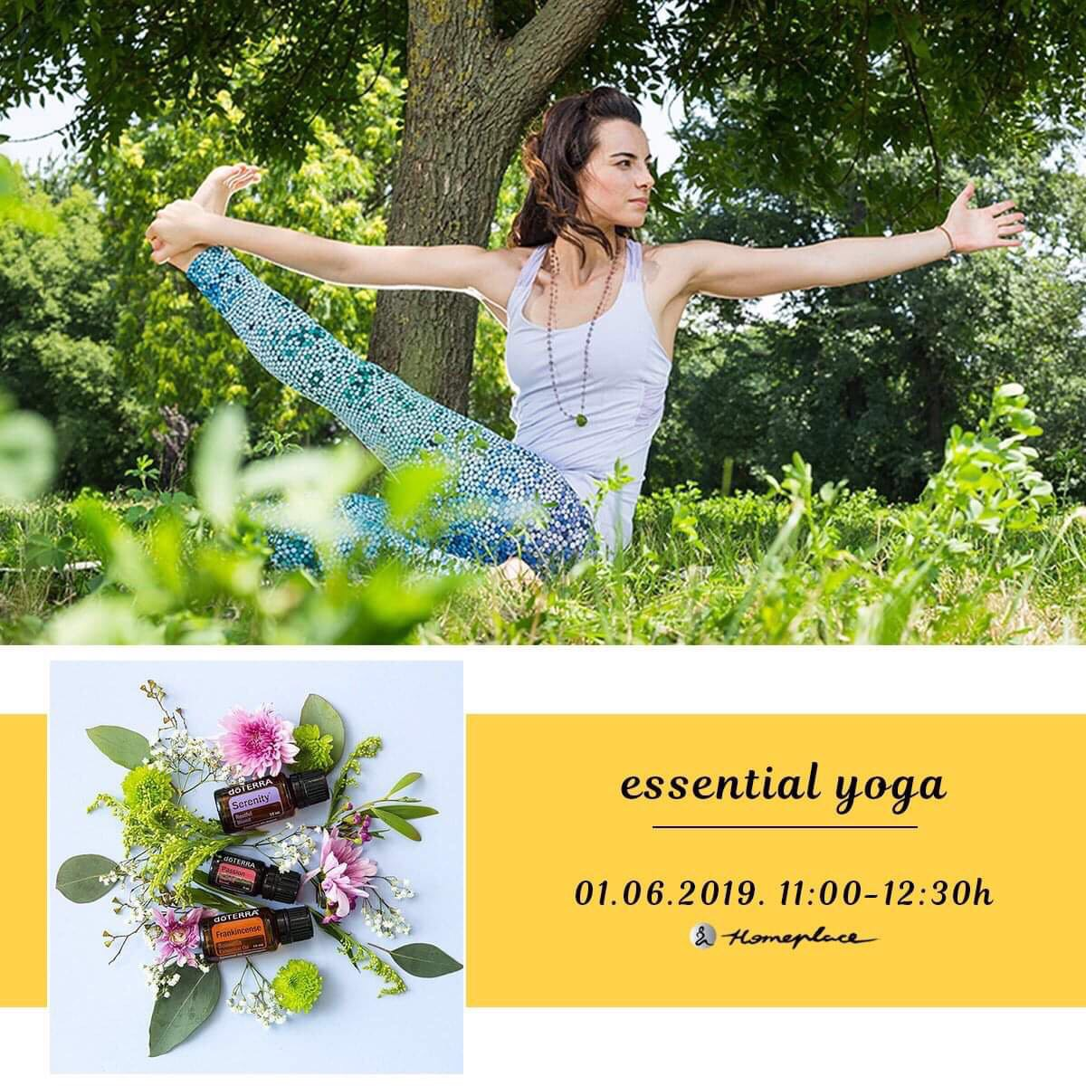 Essential Yoga - 1. jun 2019.
