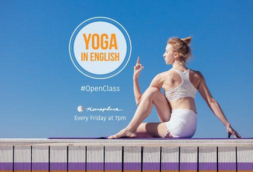 Yoga in English – open class