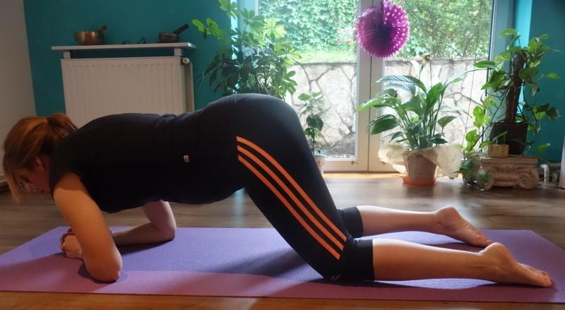 Bolovi u kičmi u trudnoći - Predlog vežbi za rasterećenje donjeg dela leđa (Trudnoća i zdravlje)