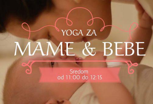 Novi program: YOGA ZA MAME I BEBE