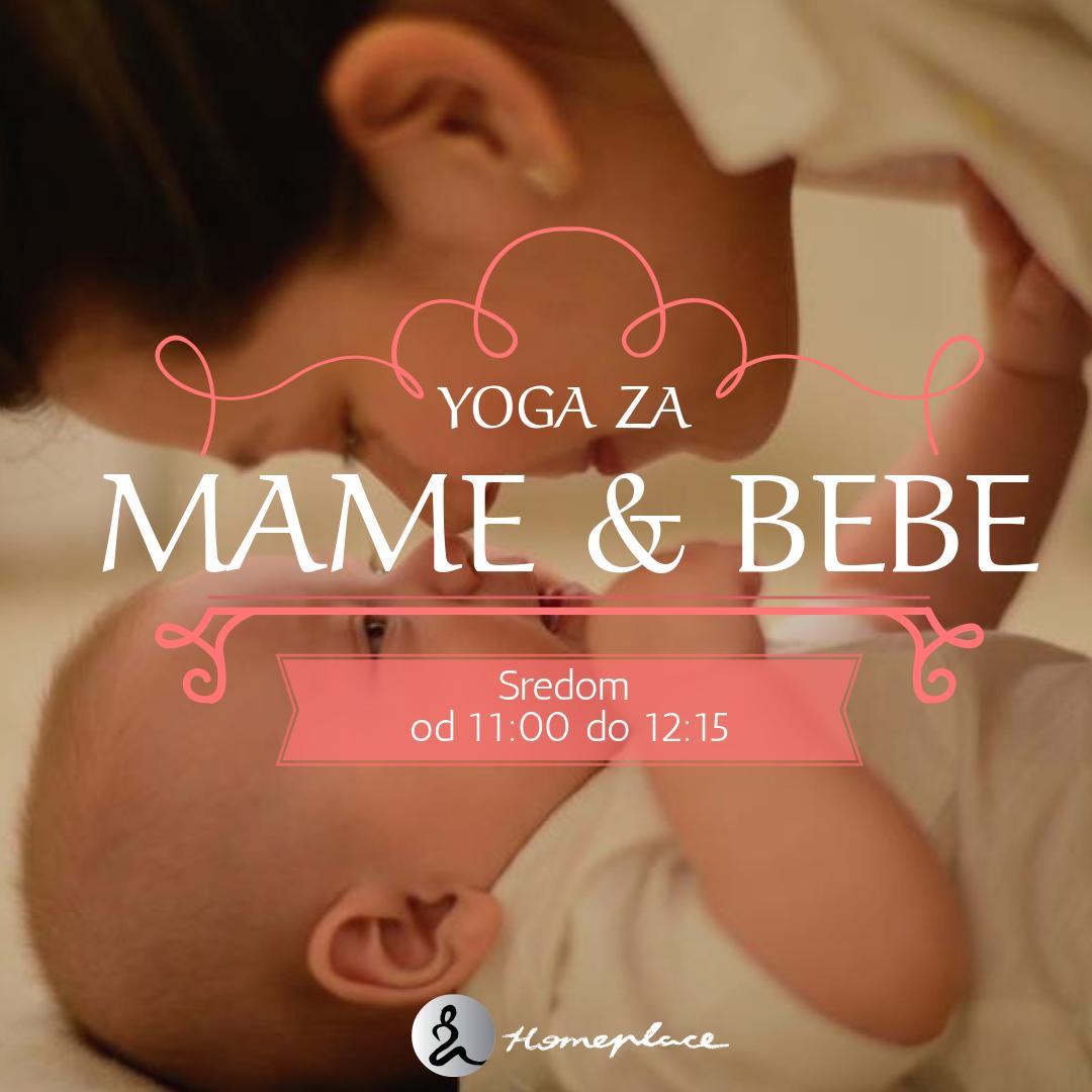 Yoga za mame i bebe