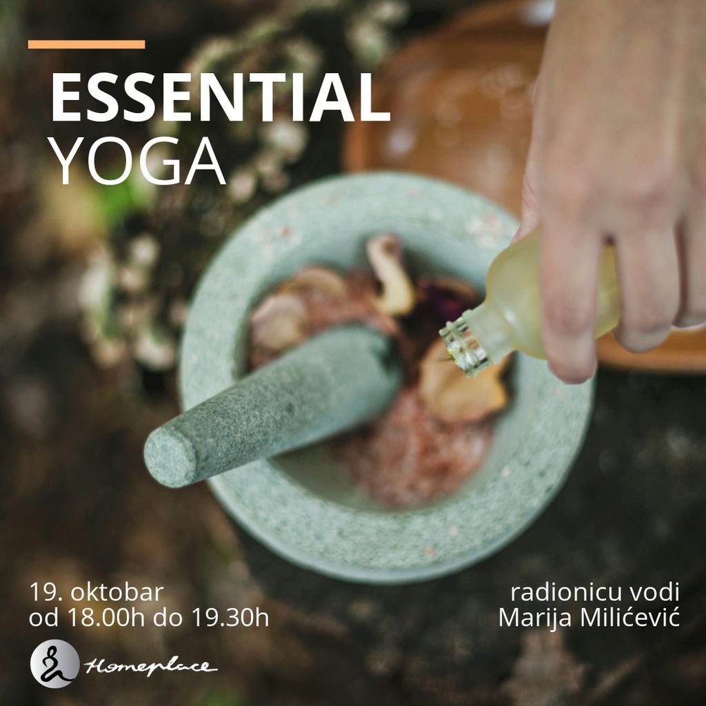 Essential yoga - 19. oktobar 2019.