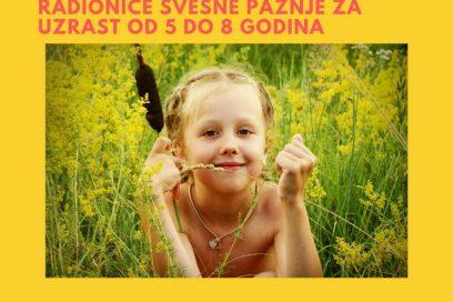 Mindfulness za decu uzrasta 5-8 godina