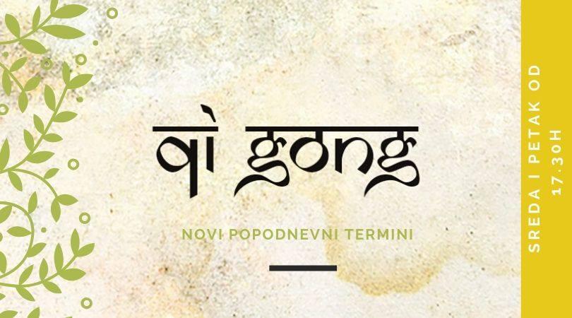 Qi Gong - novi termini