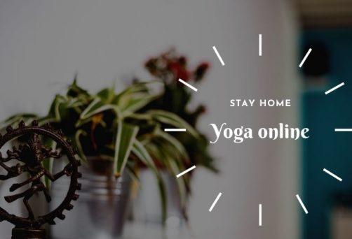 STAY HOME – YOGA ONLINE: Priključite se našim online yoga časovima uživo!