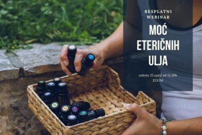 Moć eteričnih ulja – besplatni webinar