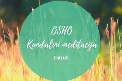 Osho kundalini meditacija – ciklus