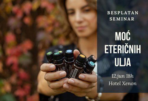 Moć eteričnih ulja – besplatni seminar