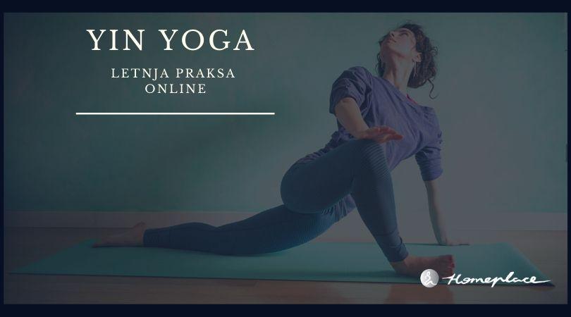 Letnja praksa - Yin Yoga online (all summer long)