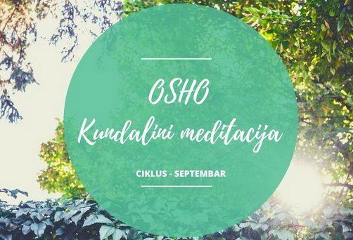 Osho kundalini meditacija – ciklus u septembru
