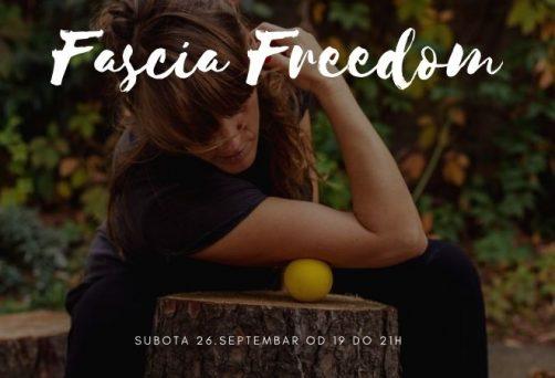 Fascia freedom – radionica u septembru
