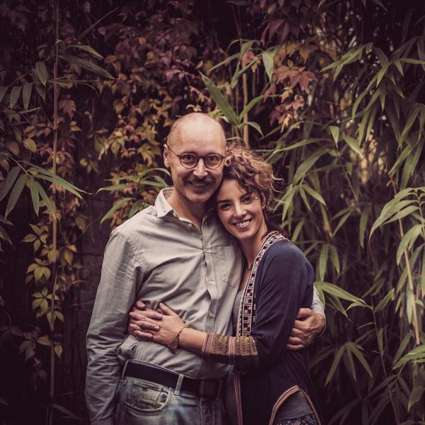 Dražen Pramod Šivak i Marija Kavisho Milićević