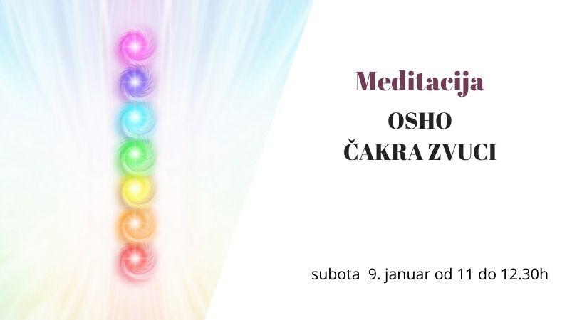 Aktivne meditacije - OSHO čakra zvuci