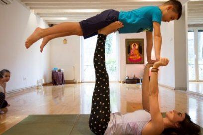Press: Kroz zabavu i igru najmlađi razvijaju samopoštovanje i fleksibilnost: RAINBOW KIDS YOGA