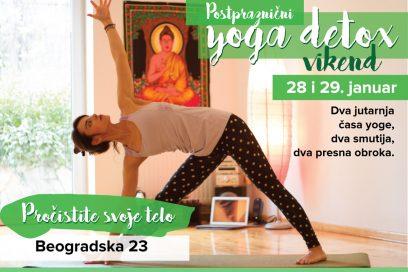 Postpraznični yoga detox vikend
