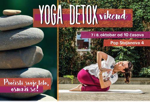 Jesenji yoga detox vikend