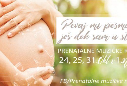 Prenatalne muzičke radionice