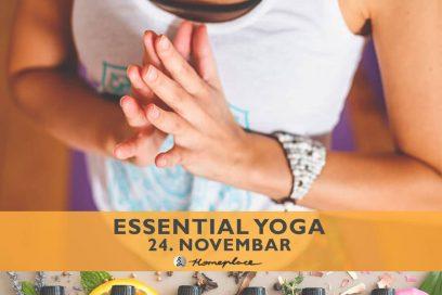 Essential yoga – čas u novembru