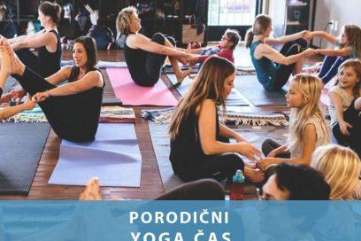 Porodični yoga čas u decembru