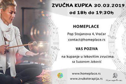 Zvučna kupka – kupanje u lekovitim zvucima sa Suzanom Janković