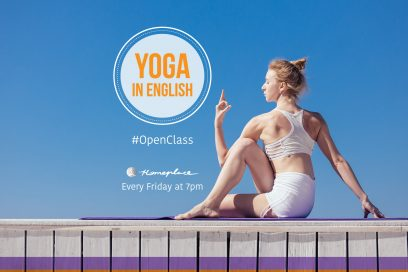 Yoga in English – drop in class