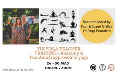 Yin Yoga Teacher Training – Anatomy & Functional Approach