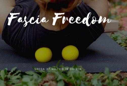 Fascia freedom – radionica u maju