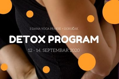 """Trodnevni detox program: Yoga & prirodni probiotik """"Detox doručak"""""""
