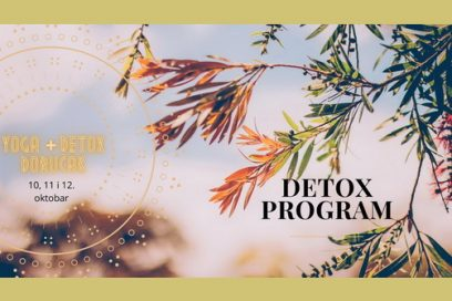"Trodnevni detox program u oktobru: Yoga & prirodni probiotik ""Detox doručak"""