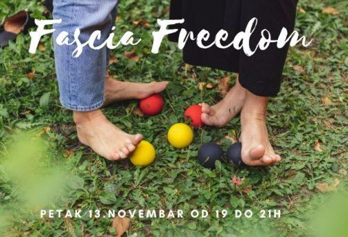 Fascia freedom – radionica u novembru