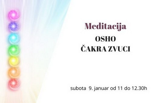 Aktivne meditacije – OSHO čakra zvuci