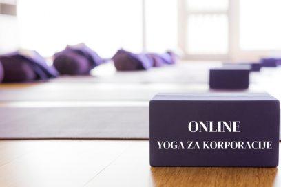 Online yoga za korporacije