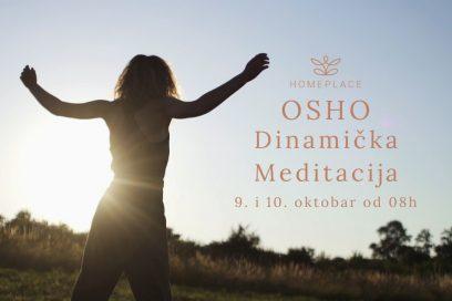 OSHO Dinamička meditacija u oktobru