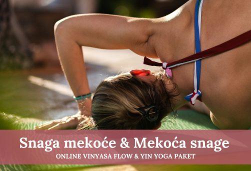 Vinyasa & Yin Yoga – Igra snage i mekoće